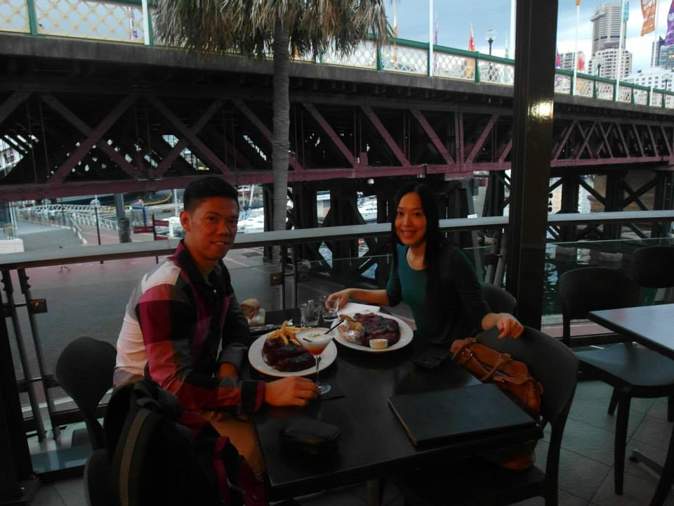 Hurricane's Grill, Darling Harbour with Benny