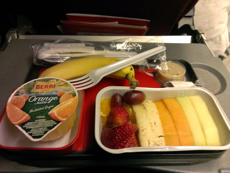 Breakfast Fruit Platter on QF21