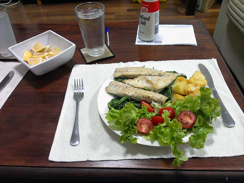 Richard Cooks: Dolphinfish and Samson Fish Fillets