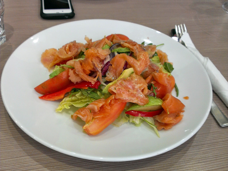 Pinocchio's, Club Redfern: Smoked Salmon Salad