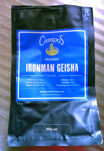 Campos Coffee: Ironman Geisha