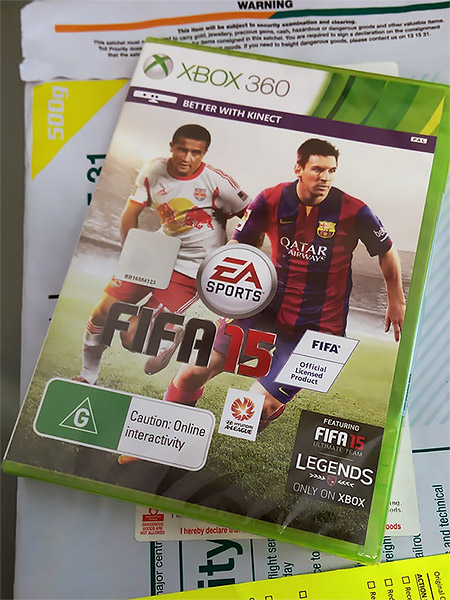 FIFA 15 for the Xbox 360