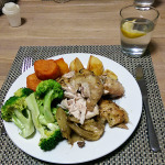 Roast Chicken: My Plate at the Table