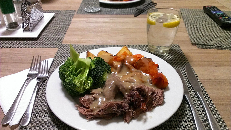 Roast Leg of Lamb: My Plate