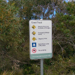 Coast Track: Rules Sign