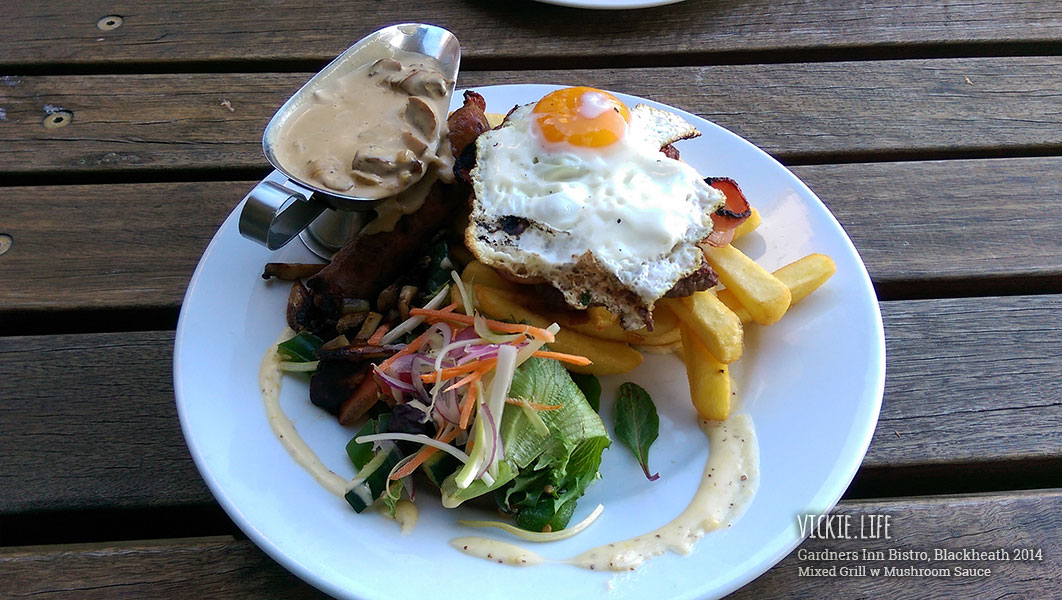 Gardners Inn Bistro: Mixed Grill