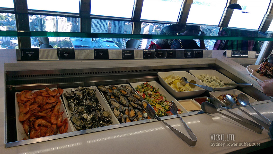 Sydney Tower Buffet: Seafood