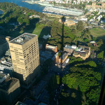 Sydney Tower: Afternoon Shadow