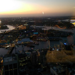 Sydney Tower: Sunset View