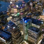 Sydney Tower: Evening View