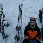 Ski Trip Jan 2015 D4: Behind His Back