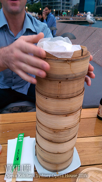 Opera Kitchen: Our Tower of Dumplings