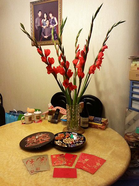 Chinese New Year 2015: Hong Kong Family Home Decor