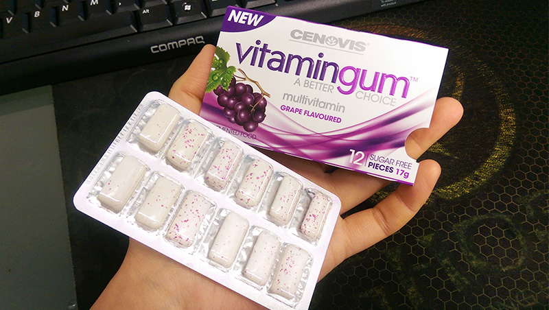 Cenovis Grape Vitamin Gum