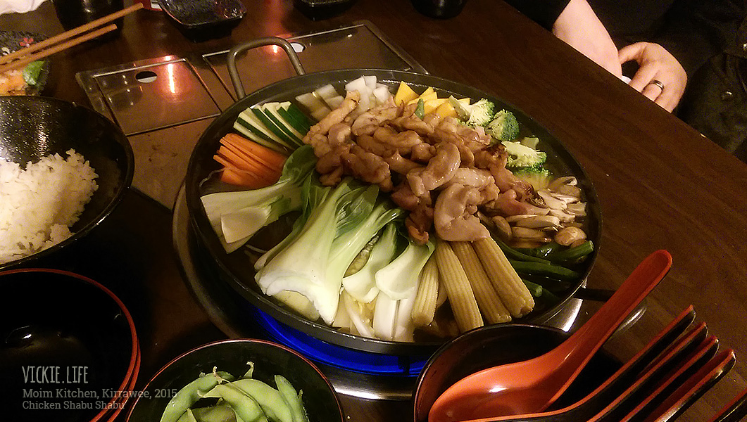 Moim Japanese Kitchen: Chicken Shabu Shabu