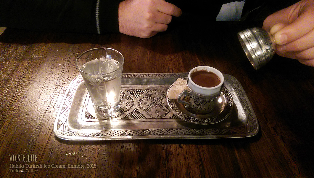 Hakiki Turkish Ice Cream, Newtown: Turkish Coffee