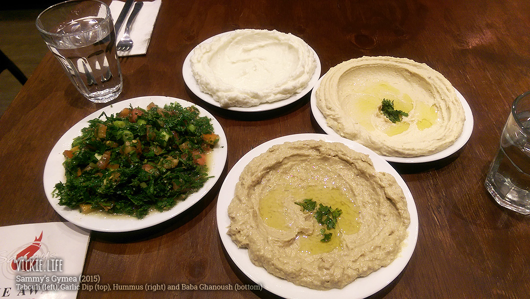 Sammy's Gymea: Tabouli and Dips