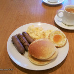 Pullman Cairns Breakfast Plate & Black Coffee