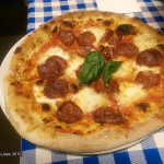 Bar Angolo Pizzeria, Top Ryde, June 2015: Diavola Pizza